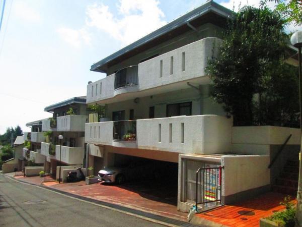 神戸市灘区 中古マンション外観写真