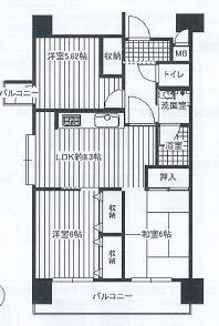 神戸市中央区二宮町 間取画像