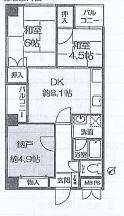 神戸市中央区元町通 間取画像