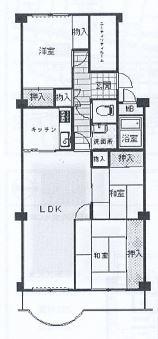 神戸市中央区葺合町 間取画像