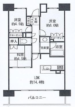 神戸市中央区脇浜町 間取画像