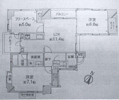 神戸市中央区古湊通 間取画像